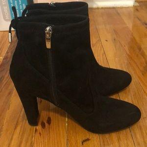 Marc Fisher suede black booties